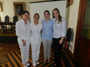 As Palestrantes, Mariana Franco e Luciana Barbuy