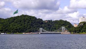 Ponte Pensil Interditada