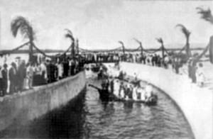 Inauguração do Canal 1 (1907)