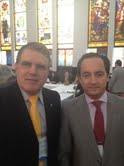 Ademir e Consul Geral Português Paulo Lopes Lourenço