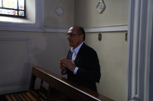 Governador de São Paulo visitou a Beneficência