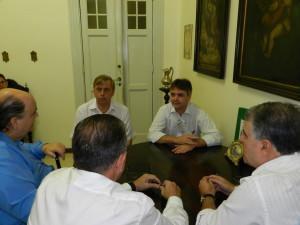No encontro foi discutido ampliação de leitos SUS