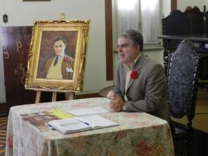 Ademir Pestana, presidente da Beneficência
