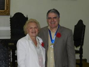 Ademir Pestana e Maria Araújo
