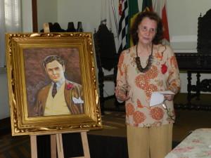 Maria Zilda, presidente da Academia Feminina de Letras