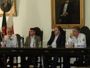 Da Esquerda para Direita: Jeová Pessin, Marcos Calvo, Ademir Pestana e Ricardo Hayden.