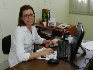 Enf Regina trabalhando