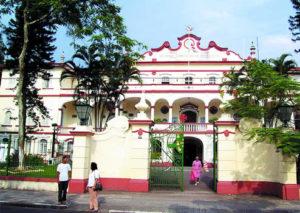 Sede atual da Beneficência Portuguesa inaugurada em dezembro de 1926